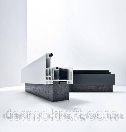 Blaugelb ПОДСТАВОЧНЫЙ ПРОФИЛЬ EPS 45X30X1175 MM (Universal) для окон ПВХ и алюминия