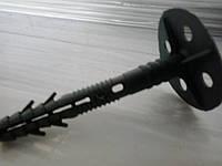 Дюбель зонт фасадный 10х140 для крепления минеральной ваты с пластиковым гвоздём
