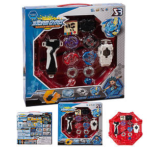4в1 Набор игрушек-волчков BEYBLADE Storm Gyro, фото 2