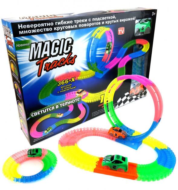 Автомобильный гоночный трек Magic Tracks 366 деталей