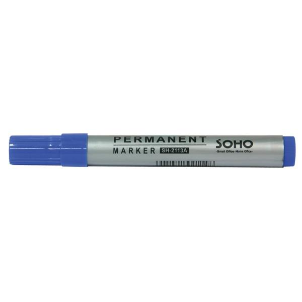 Маркер перманентный SH2113A синий