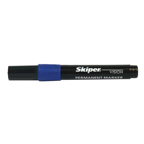 Маркер перманентный SK6-R19 Vision синий