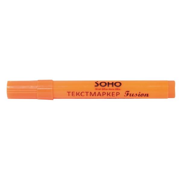 Маркер флуоресцентный SH 1113 Fusion оранжевый
