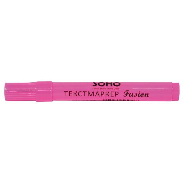 Маркер флуоресцентный SH 1113 Fusion розовый