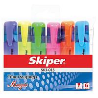 Набор маркеров флуоресцентных SK3-01S Magic 6цв
