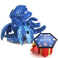 Бакуган Кракелиус синий + игровая арена в подарок