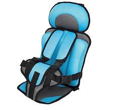 Бескаркасное портативное детское автокресло Baby Car Seat, фото 3
