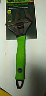 Ключ разводной Сибртех, тонкие губки, фосфатированый,250 мм, фото 1