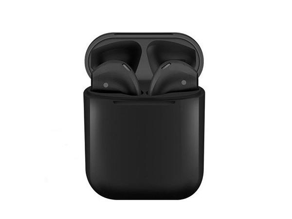 Беспроводные Bluetooth наушники Magneto inPods 12 Stereo black gloss