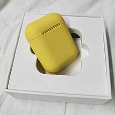 Беспроводные наушники inPods 12 yellow gloss с сенсорным управлением, фото 2