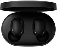 Беспроводные наушники Redmi Airdots Black + держатель для телефона в подарок, фото 2
