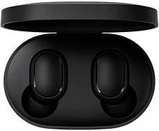 Беспроводные наушники Redmi Airdots Black + монопод в подарок, фото 3