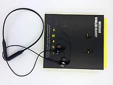 Беспроводные наушники Wireless  Headset Черно-красные + Фитнес браслет Band 4 в ПОДАРОК!!!!, фото 3