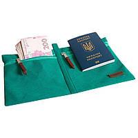 Дорожный органайзер для документов Organize лазурь SKL34-190402
