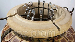 Тандыр Греция с откидной крышкой / со съемной крышкой, фото 2