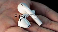 Беспроводные сенсорные наушники bluetooth inPods 12 белые + подарок крепление для смартфона, фото 3