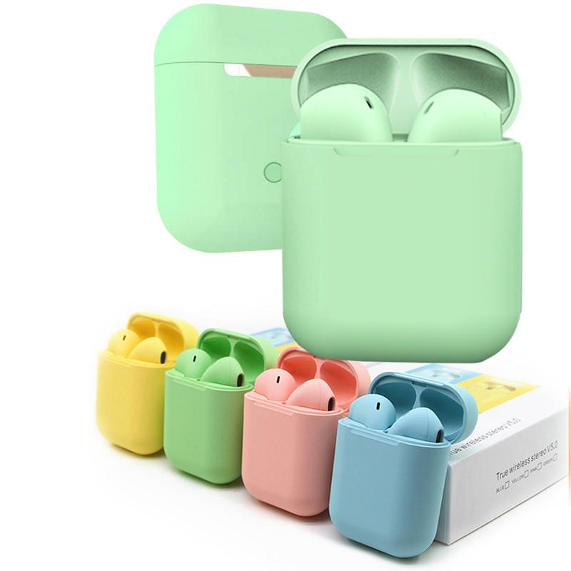 Беспроводные сенсорные наушники inPods 12 Зеленые