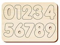 Изучаем цифры, дерев.бесцвет., 091101
