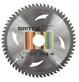 Диск пильный Spitce для алюминия и пластика 54Т 210 х 30 мм (22-954)