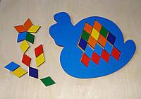 Мозаика-ромб «Улитка», 067203