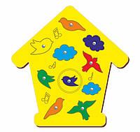 Магнитная рыбалка «Птицы», 190*275 мм, 062103