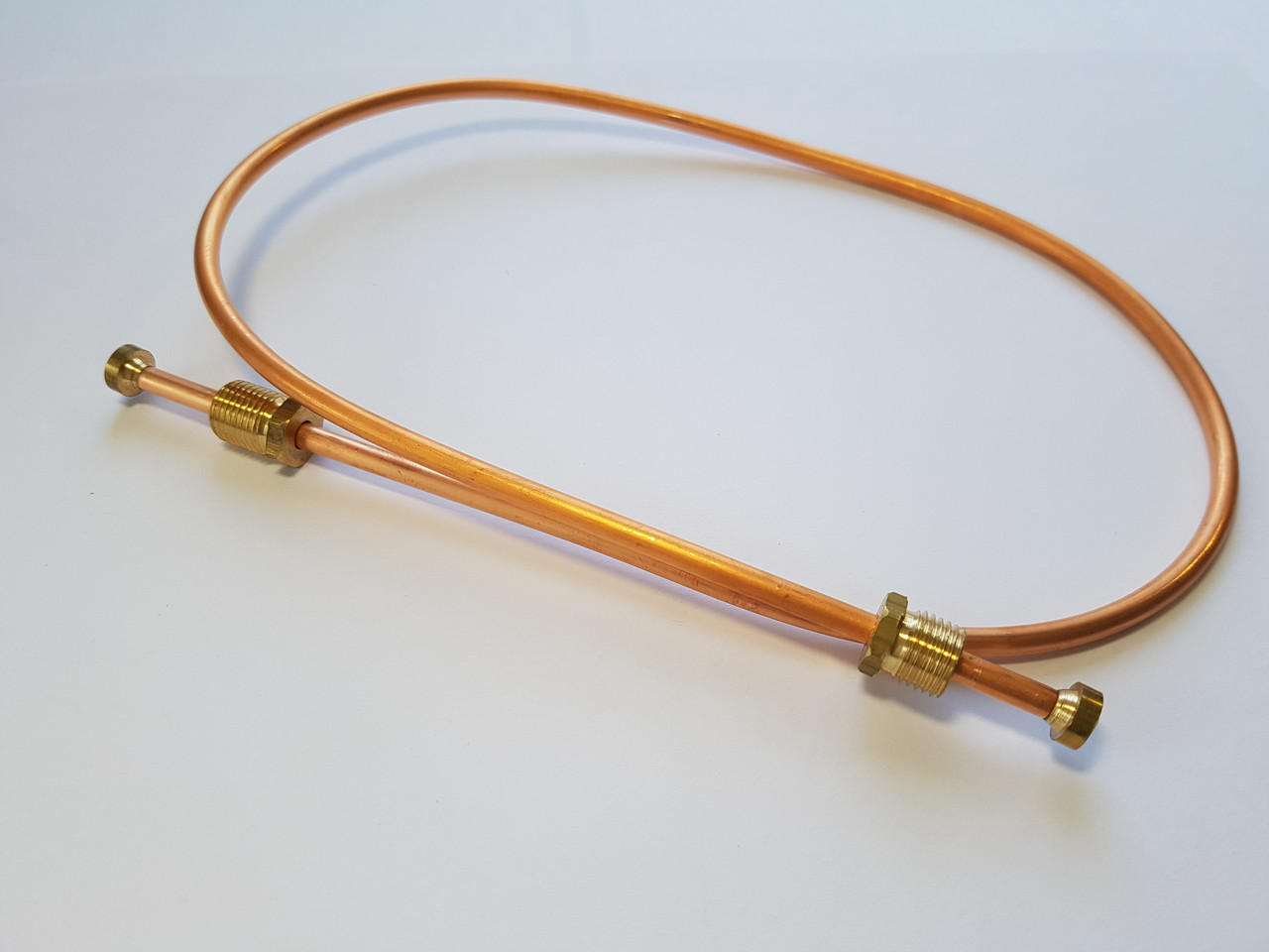 Трубка запальника Honeywell L-600 d-4 mm. М10*1 - М10*1 Термопром Жовті Води Termoprom
