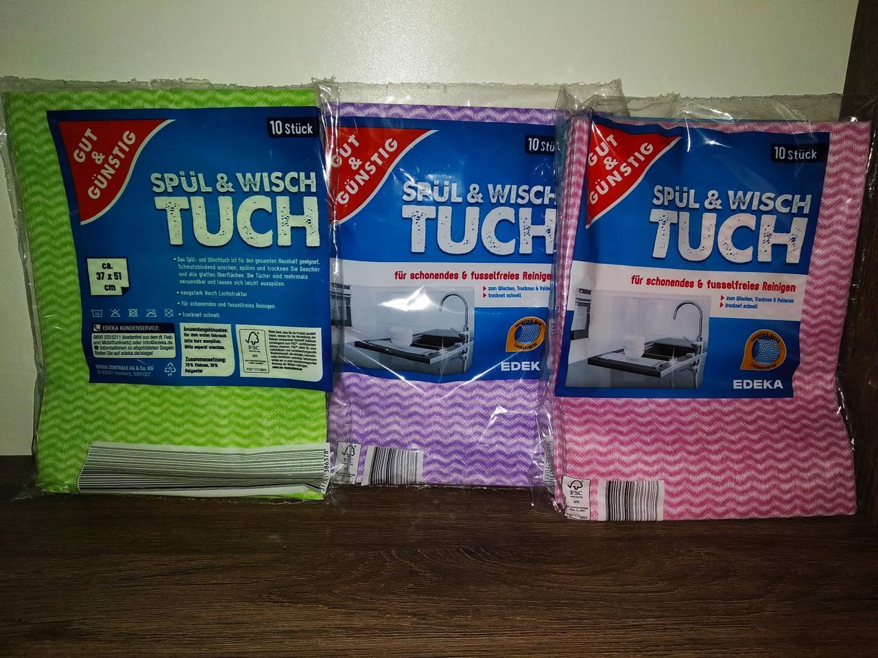 Серветки універсальні G & G Spul & Wischtuch 10 шт.
