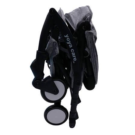 Коляска Yoya Care Wider серая рама черная, фото 2