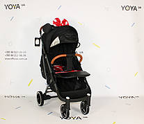 Коляска Yoya Plus Pro PREMIUM Минни, рама черная