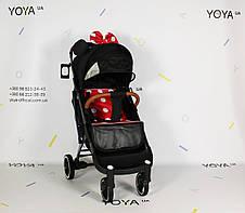 Коляска Yoya Plus Pro PREMIUM Минни, рама черная, фото 2