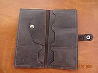 Кожаный женский кошелек brawn3, фото 1