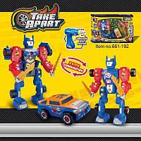 Конструктор Робот трансформер Take Apart 661-192 на 43 детали ом