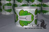 """Формы для наращивания ногтей """"зеленый лист"""" 500 шт"""