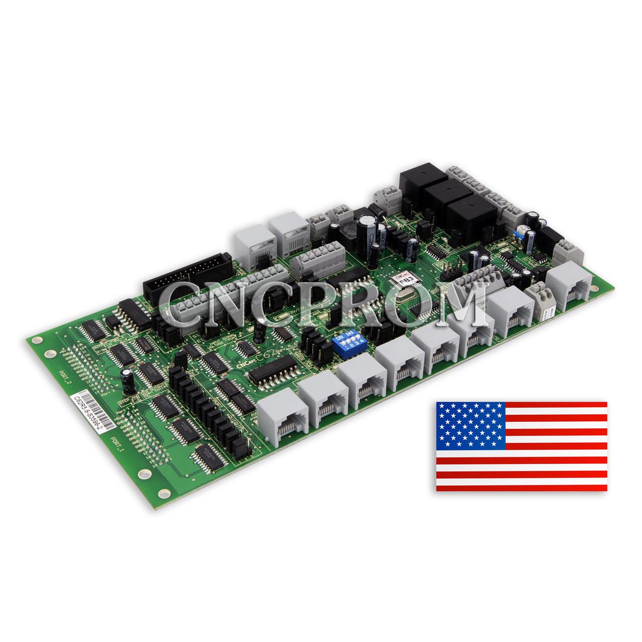 Плата расширения многофункциональная двухпортовая C62 Rev5.6 для контроллера Smooth Stepper
