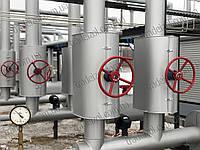 Монтаж теплоізоляції паропроводів, фото 1