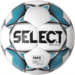 Мяч футбольный SELECT Royal IMS (011) бел/син, р.5