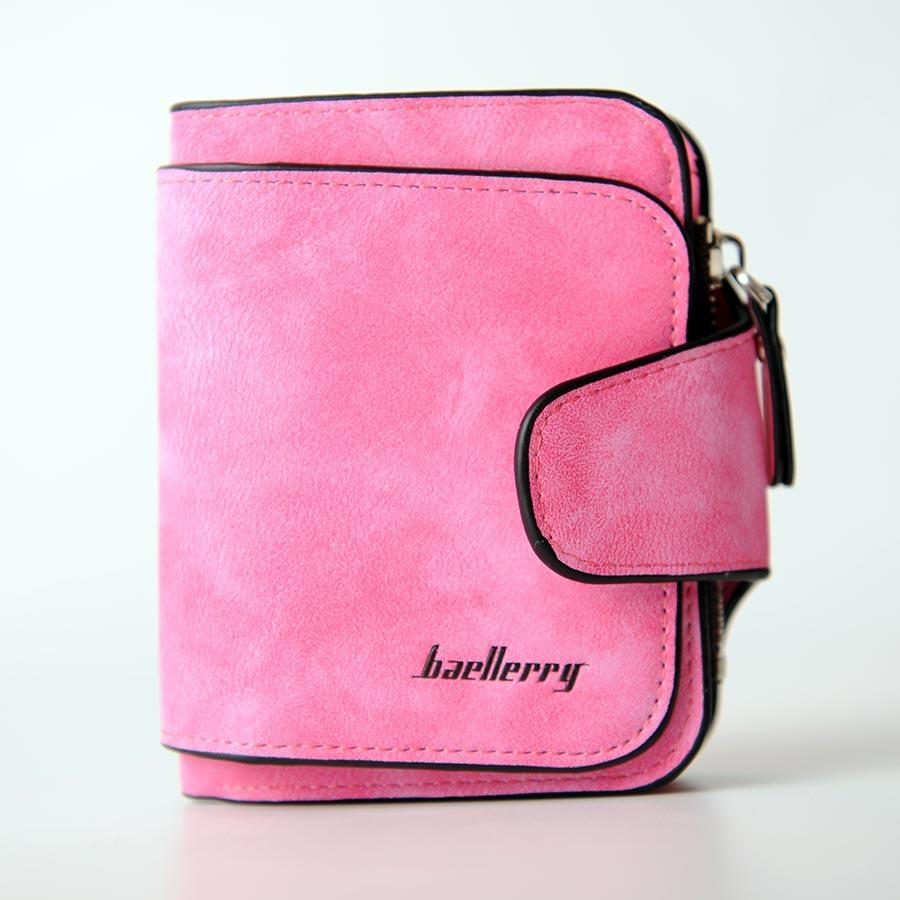 Кошелек Mini Baellerry ярко-розовый