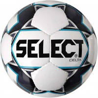 Мяч футбольный SELECT Delta (015) бел/сер размер 4