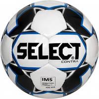 Мяч футбольный SELECT Contra IMS (306), бел/синий р.5