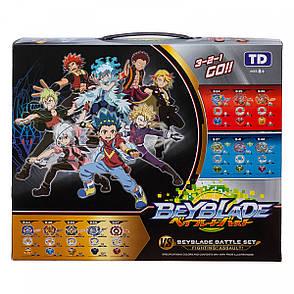 Набор BEYBLADE Battle Set + детские наручные LED-часы Paper Watch Aqua, фото 2