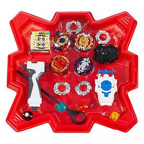 Набор BEYBLADE Battle Set + детские наручные LED-часы Paper Watch Orange, фото 2