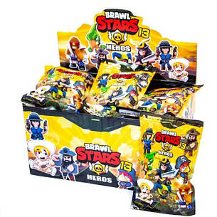 Набор коллекционных фигурок Brawl Stars с карточкой в пакете (24 шт.) 13 сезон, фото 2
