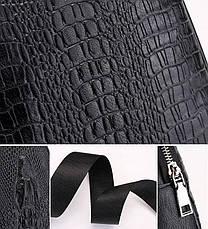 Новая мужская сумка слинг Alligator Brown  + В ПОДАРОК Кошелек портмоне Alligator Brown!!!, фото 2