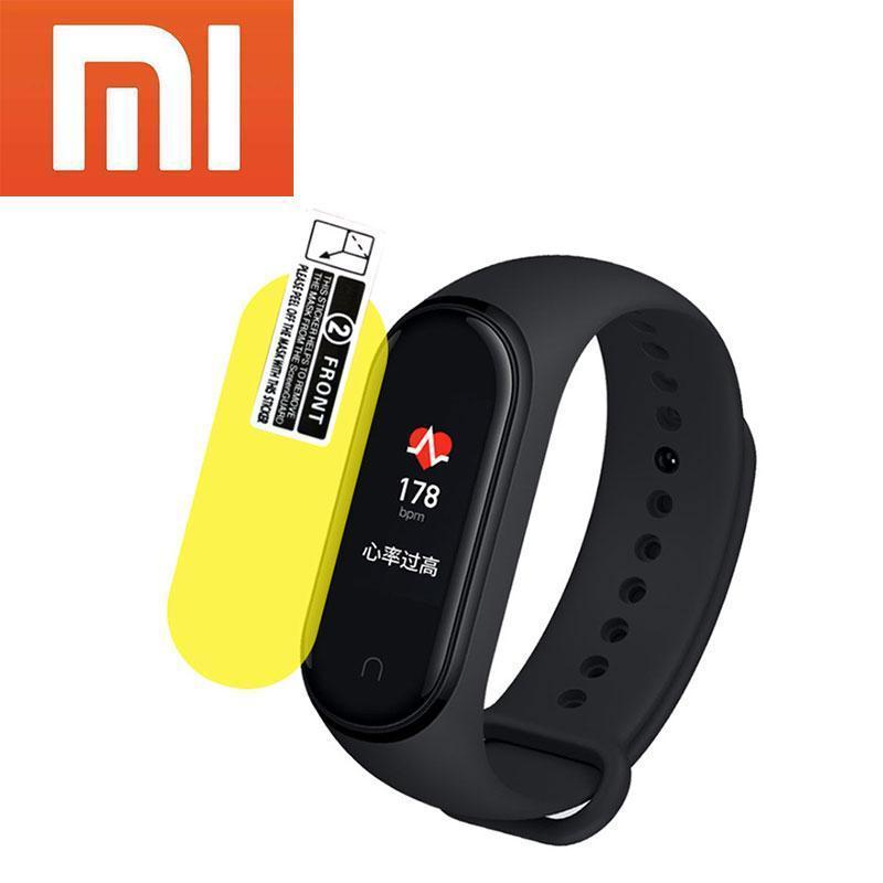 Новый оригинальный фитнес браслет Xiaomi Mi Band 4 + защитная пленка в подарок