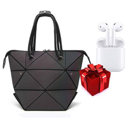 Новый тренд! Модная Сумка Bao-Bao + Беспроводные сенсорные наушники inPods 12 Белые в ПОДАРОК!!!, фото 2