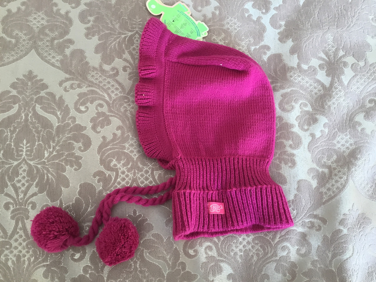 Детская шапочка-шлем