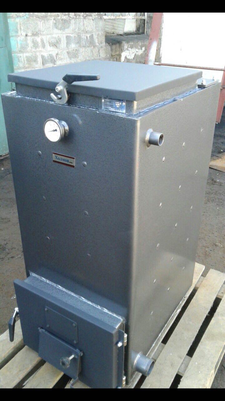 Шахтный котел Холмова Эко Pro 10 кВт длительного горения