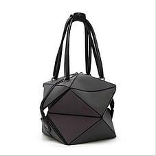 Стильная женская сумка Bao-Bao + Беспроводные сенсорные наушники inPods 12 Красные в ПОДАРОК!!!, фото 2