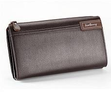 Стильный портмоне клатч Baellerry Libero для настоящих мужчин + Мужские наручные часы WLISTH в ПОДАРОК!!!, фото 3