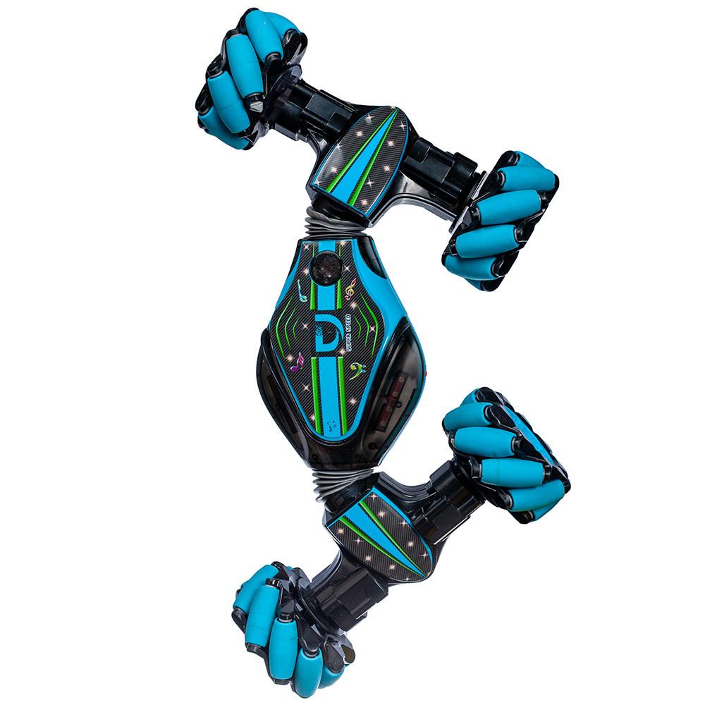 Трюковая машинка-багги на управлении от руки Stunt Car синяя